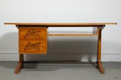 Desk in the Manner of Gio Ponti Italy c 1950s - 1958761