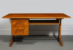 Desk in the Manner of Gio Ponti Italy c 1950s - 1958764