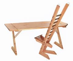 Destruction desk chair ca 1992 - 1002175