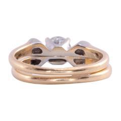 Diamond Platinum 14K Wedding Set - 2061255