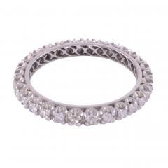 Diamond Platinum Eternity Ring - 2080851