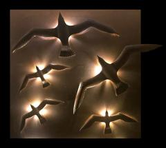Didone Italy Design Wall lamp Applique Bronze Seagulls by Didone Italian Artist 2018 - 1345762