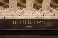 Dieter C llen A Cork Model of the Temple of Hera at Paestum by Dieter C llen 1999 - 271209