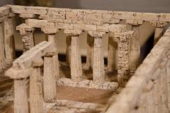 Dieter C llen A Cork Model of the Temple of Hera at Paestum by Dieter C llen 1999 - 271210
