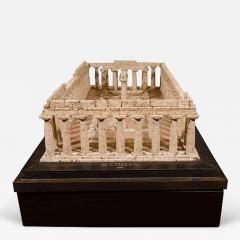 Dieter C llen A Cork Model of the Temple of Hera at Paestum by Dieter C llen 1999 - 272310