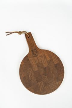 Digsmed cutting board with knife teak 70s - 1837852