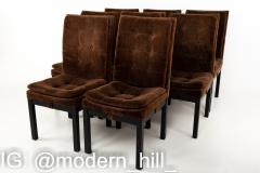 Dillingham Mid Century Upholstered Parsons Dining Chairs Set of 8 - 1870244