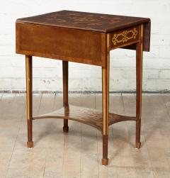 Diminutive Inlaid Harewood Pembroke Table - 1984406