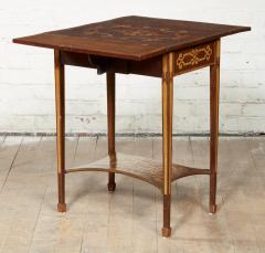 Diminutive Inlaid Harewood Pembroke Table - 1984407