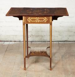 Diminutive Inlaid Harewood Pembroke Table - 1984408