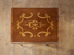 Diminutive Inlaid Harewood Pembroke Table - 1984410
