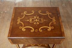 Diminutive Inlaid Harewood Pembroke Table - 1984411