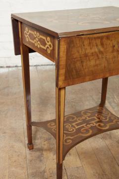 Diminutive Inlaid Harewood Pembroke Table - 1984412