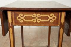 Diminutive Inlaid Harewood Pembroke Table - 1984413