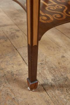 Diminutive Inlaid Harewood Pembroke Table - 1984414