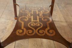Diminutive Inlaid Harewood Pembroke Table - 1984415