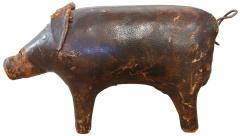 Dimitri Omersa Hand Stitched Leather A F Pig 1960s - 240135