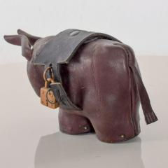Dimitri Omersa Leather Donkey Mule Money Coin Bank style Dimitri Omersa made England - 1447674