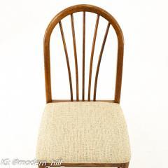 Dinaire Mid Century Walnut Dining Chairs Set of 6 - 1870210
