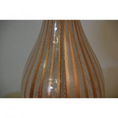 Dino Martens Tall Murano Glass Table Lamp by Dino Martens for Aureliano Toso - 1080810
