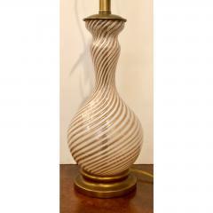 Dino Martens Vintage Zanfirico Murano Glass Table Lamp by Dino Martens - 1721819