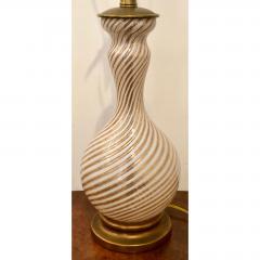 Dino Martens Vintage Zanfirico Murano Glass Table Lamp by Dino Martens - 1721821