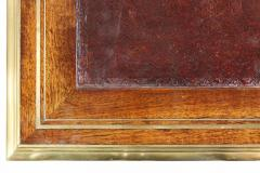 Directoire Style Mahogany and Brass Inlaid Writing Table - 1558245