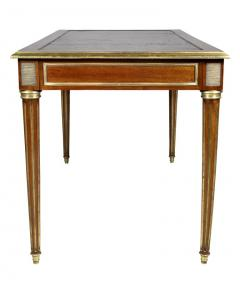 Directoire Style Mahogany and Brass Inlaid Writing Table - 1558266