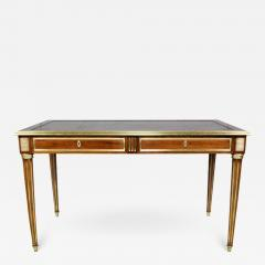 Directoire Style Mahogany and Brass Inlaid Writing Table - 1558542
