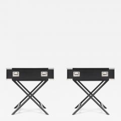Director Style Side Tables - 265642