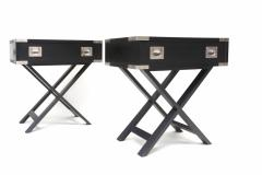 Director Style Side Tables - 265643