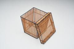 Dirk van Sliedregt Six Storage Baskets Attributed to Dirk Van Sliedregt for Roh Netherlands 1960s - 1801643