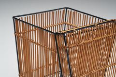 Dirk van Sliedregt Six Storage Baskets Attributed to Dirk Van Sliedregt for Roh Netherlands 1960s - 1801644