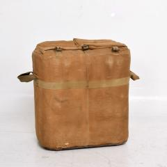 Distressed Vintage Army Military Surplus Ice Cooler Chest Tote USA 1940s - 1634195
