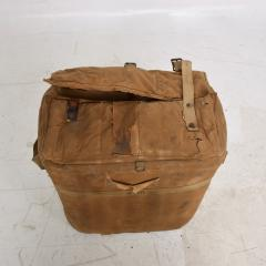 Distressed Vintage Army Military Surplus Ice Cooler Chest Tote USA 1940s - 1634202