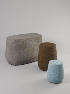 Djim Berger Lightweight Porcelain Childrens Stool and Side Table - 680743