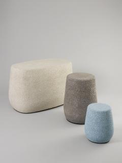 Djim Berger Lightweight Porcelain Childrens Stool and Side Table - 680744