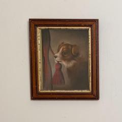 Dog Oil Painting American Circa 19th Century - 1570761