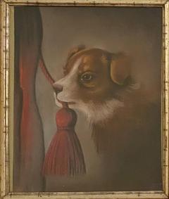 Dog Oil Painting American Circa 19th Century - 1570762