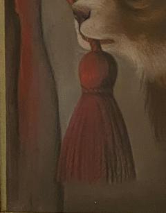 Dog Oil Painting American Circa 19th Century - 1570764
