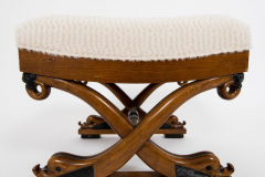 Dolphin Curule Bench - 1169286