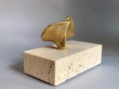 Domenico Calabrone Flor Da Amazonia Bronze Miniature By Domenico Calabrone Brazil 1960s - 2080685