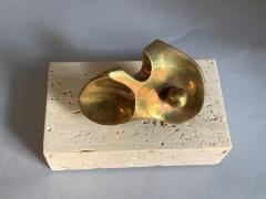 Domenico Calabrone Flor Da Amazonia Bronze Miniature By Domenico Calabrone Brazil 1960s - 2080688