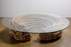 Domingos T tora Contemporary Glass Top Center Table by Domingos T tora Brazil 2013 - 1657878