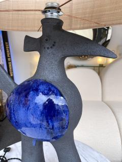 Dominique Pouchain Pair of Bird Ceramic Lamps by Dominique Pouchain France 2020 - 2074228