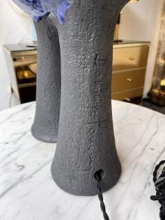 Dominique Pouchain Pair of Bird Ceramic Lamps by Dominique Pouchain France 2020 - 2074233