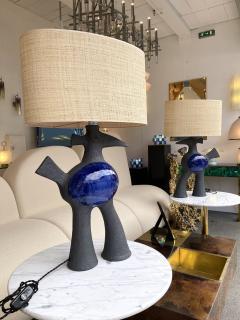 Dominique Pouchain Pair of Bird Ceramic Lamps by Dominique Pouchain France 2020 - 2074238