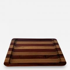 Don S Shoemaker A Wood Inlaid Tray by Don Shoemaker - 129693
