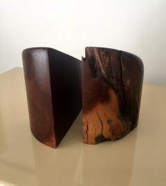 Don S Shoemaker Rosewood Bookends by Don Shoemaker - 126282