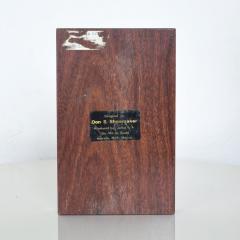 Don Shoemaker Don S Shoemaker Cocobolo Coin Pen Holder Desk Organizer Tray 1960s - 1409827